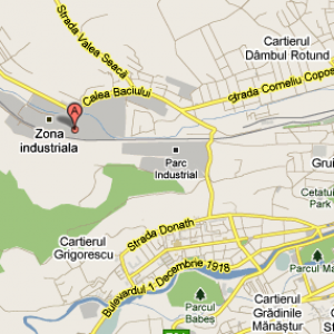 Harta Baciu Cluj