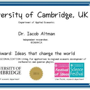 Diploma Cambridge Altman