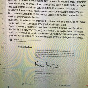 Postarea lui Altman cu Contractul cu cedarea dr. de autor