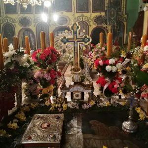 Mormantul lui Hristos din Biserica ortodoxa din satul Prilipeti. jud. Caras Severin