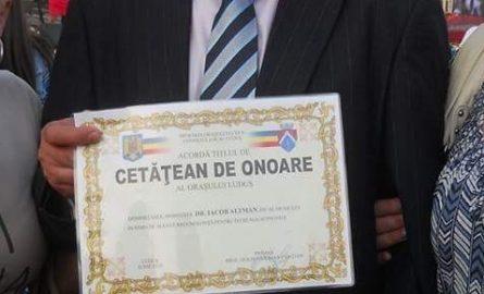 Kusturica e zero! Cum a primit Altman titlul de Cetățean de onoare al Ludușului